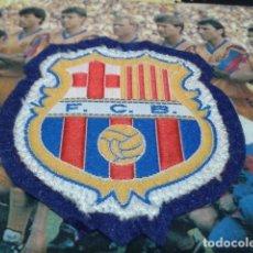 Coleccionismo deportivo: PARCHE ESCUDO F.C. BARCELONA TELA BORDADA ANTIGUO NUEVO. Lote 257302715