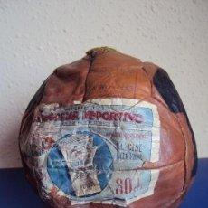 Coleccionismo deportivo: (F-180347)BALON FOOT-BALL OBSEQUIO CROMOS CINEGRAMA DEPORTIVO - AÑOS 40. Lote 115189211