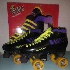 Coleccionismo deportivo: C PATINES 4 RUEDAS COBRA N 38. Lote 116587182