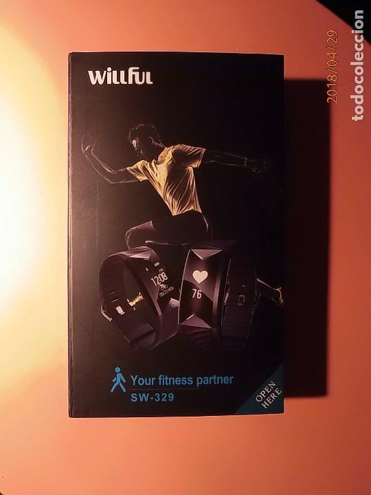 WILLFUL SW329 - PULSERA PARA DEPORTES - PULSOMETRO - CRONOMETRO - GPS - NUEVO. segunda mano