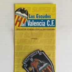 Coleccionismo deportivo: PARCHE DE TELA TERMOADHESIVO VALENCIA CF CHAMPIONS. Lote 122811995