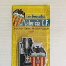 Coleccionismo deportivo: PARCHE DE TELA TERMOADHESIVO VALENCIA CF COPA CHAMPIONS. Lote 122812835