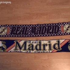 Coleccionismo deportivo: LOTE DE BUFANDAS OFICIALES REAL MADRID. Lote 122929947