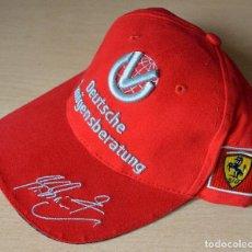 Coleccionismo deportivo: F1 - FÓRMULA 1 - GORRA FERRARI SCHUMACHER. Lote 124573619
