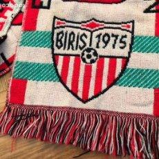 Coleccionismo deportivo: ANTIGUA BUFANDA FUTBOL BIRIS CORAZON DEL SEVILLA CORAZON DEL NORTE 1975. Lote 136348704