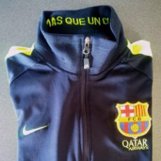 Coleccionismo deportivo: CHAQUETA CHÁNDAL NIKE FUTBOL BARCELONA. Lote 128041923