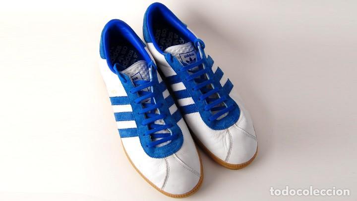 Uk9 Atenas Adidas Y Talla Zapatillas Eu44 Azul Con Caja Deportivas Blanco 5 nwPZkO80NX