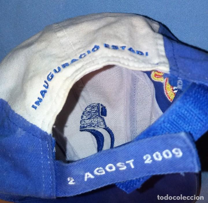 Coleccionismo deportivo: GORRA R.C.D. ESPANYOL INAGUARACIO ESTADI 2 AGOST 2009 LIVERPOOL - ESPANYOL VER FOTOS Y DESCRIPCION - Foto 7 - 135252894