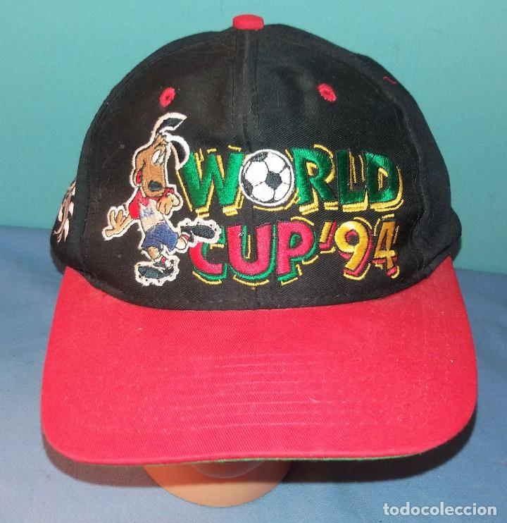 Coleccionismo deportivo: ANTIGUA GORRA WORLD CUP 94 VER FOTOS Y DESCRIPCION - Foto 1 - 144685122