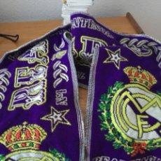 Coleccionismo deportivo: BUFANDA REAL MADRID. Lote 136451766