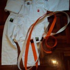 Coleccionismo deportivo: KIMONO JUDO TAGOYA. Y DOS CINTOS. Lote 138652490