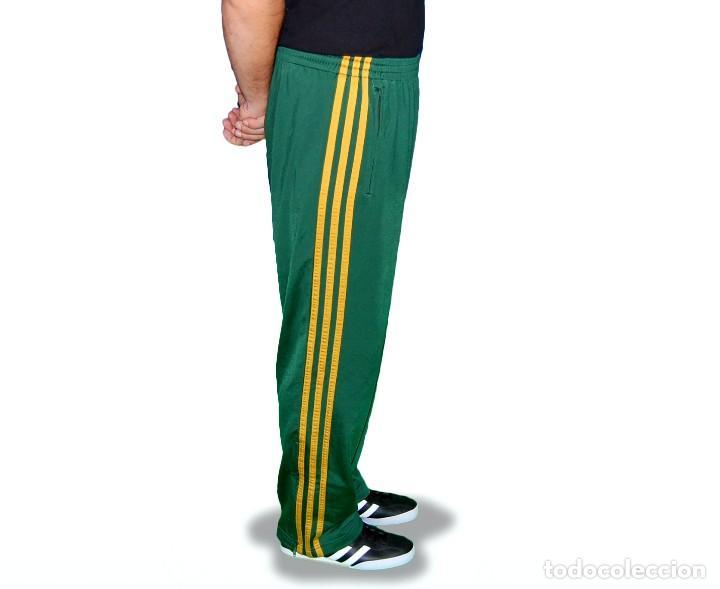 seleccione para mejor pensamientos sobre volumen grande Pantalón chándal Hombre Adidas Verde Amarillo Talla M