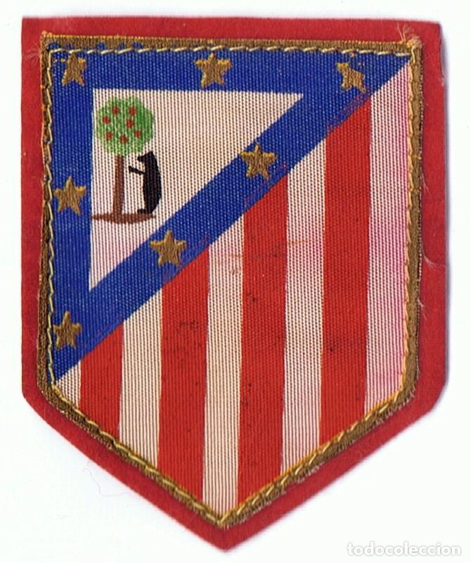 PARCHE ESCUDO ATLETICO DE MADRID (Coleccionismo Deportivo - Ropa y Complementos - Complementos deportes)