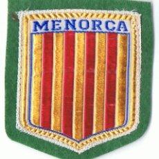 Coleccionismo deportivo: PARCHE ESCUDO DE MENORCA . Lote 141488814