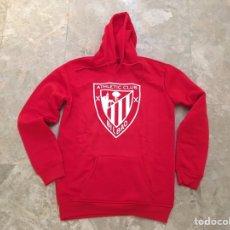 Coleccionismo deportivo: SUDADERA ROJA CAPUCHA ATHLETIC CLUB BILBAO TALLA L NUEVA. Lote 143552409