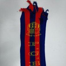 Coleccionismo deportivo: BUFANDA F.C. BARCELONA. VISCA EL BARSA. TDKDEP16. Lote 146412050