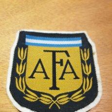 Coleccionismo deportivo: ESCUDO PARCHE BORDADO PARA CAMISETA FUTBOL. ASOCIACIÓN DE FUTBOL ARGENTINA.. Lote 146681068