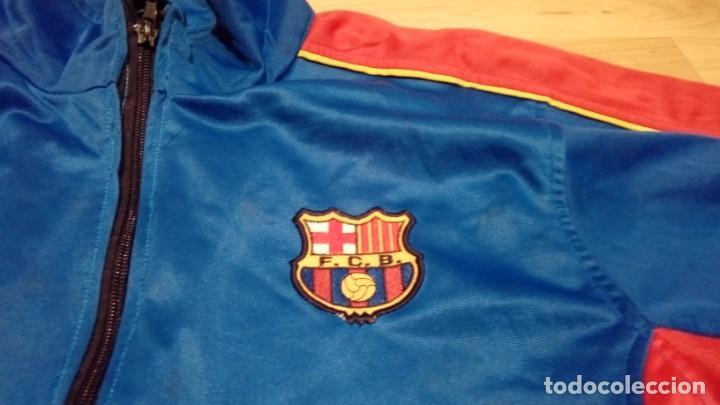 chaqueta de chándal fc barcelona vintage 5761e2c7d46