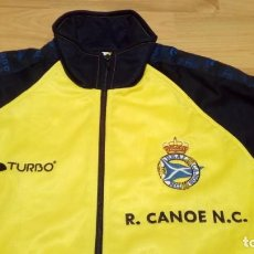 Coleccionismo deportivo: CHANDAL (CHAQUETA Y PANTALONES) REAL CANOE N.C. TALLA XS. Lote 148634798