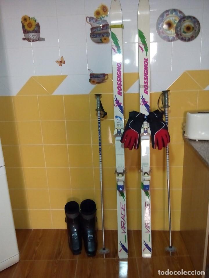 Coleccionismo deportivo: ESQUI ROSSIGNOL-VIRACE - Foto 2 - 149573862