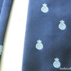 Coleccionismo deportivo: CORBATA RCD ESPANYOL OFICIAL ANTIGUA YEARS' 60-70 INSTITUCIONAL NECK TIE KRAWATT 02. Lote 198792233