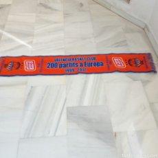 Coleccionismo deportivo: BUFANDA VALENCIA BASKET. Lote 150530800