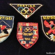 Coleccionismo deportivo: PARCHES ESQUÍ , SKY ANTIGUOS ITALIA. Lote 150823258