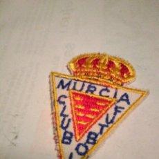 Coleccionismo deportivo: ESCUDO BORDADO PARCHE MURCIA CLUB DE FUTBOL. Lote 151882420