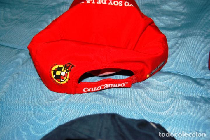 Coleccionismo deportivo: Siete gorras deportivas de diversas marcas promocionales. - Foto 2 - 152133234