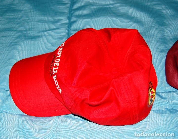 Coleccionismo deportivo: Siete gorras deportivas de diversas marcas promocionales. - Foto 3 - 152133234