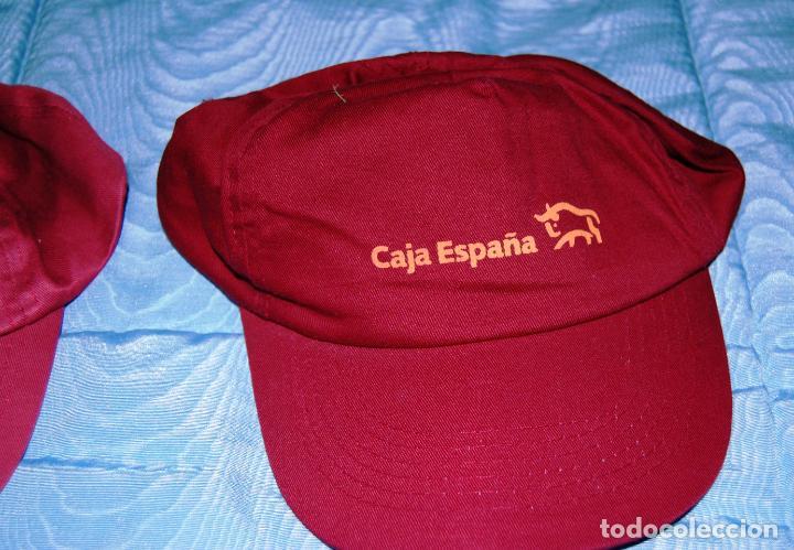 Coleccionismo deportivo: Siete gorras deportivas de diversas marcas promocionales. - Foto 4 - 152133234