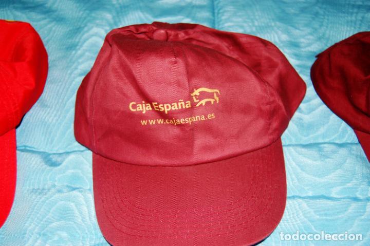 Coleccionismo deportivo: Siete gorras deportivas de diversas marcas promocionales. - Foto 5 - 152133234
