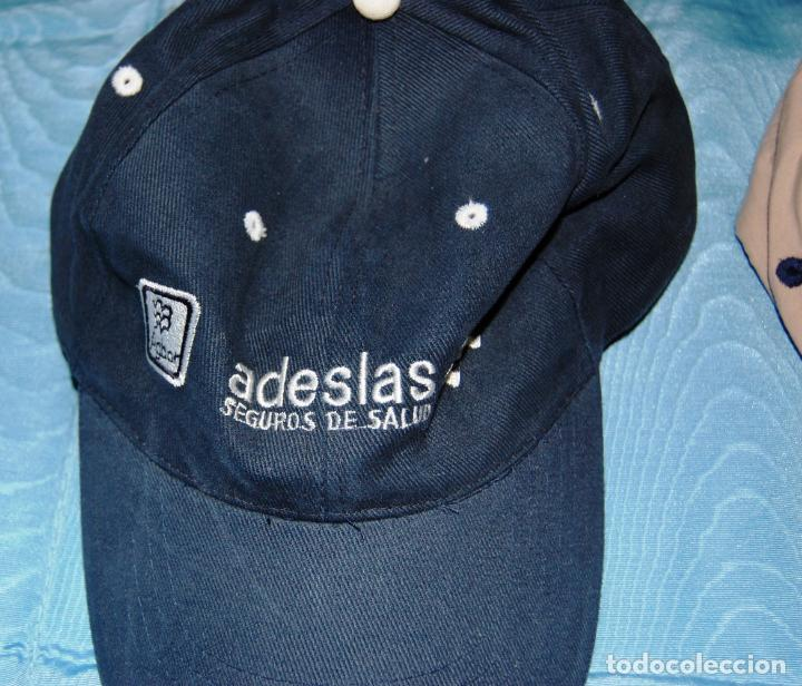 Coleccionismo deportivo: Siete gorras deportivas de diversas marcas promocionales. - Foto 6 - 152133234