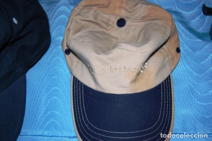 Coleccionismo deportivo: Siete gorras deportivas de diversas marcas promocionales. - Foto 7 - 152133234