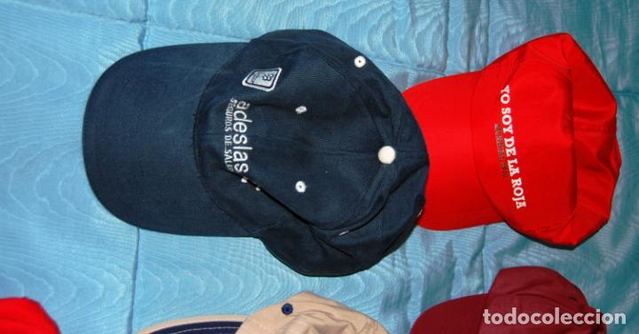 Coleccionismo deportivo: Siete gorras deportivas de diversas marcas promocionales. - Foto 11 - 152133234