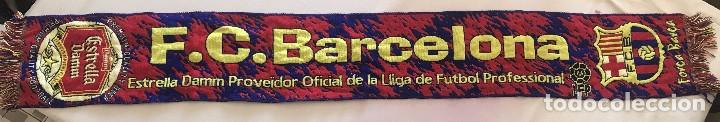 Coleccionismo deportivo: Bufanda FCB, Futbol Club Barcelona, Barça, Boixos Nois - Foto 2 - 102503871