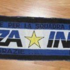 Coleccionismo deportivo: BUFANDA DEL INTER DE MILAN. AÑOS 90. FORZA INTER.FUTBOL. Lote 155055866