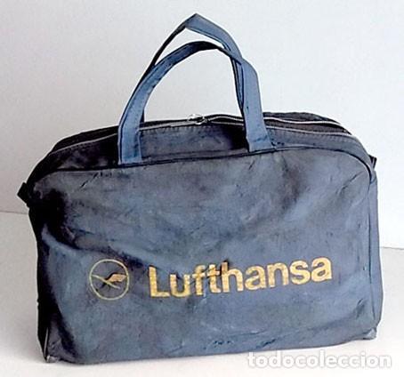 Coleccionismo deportivo: ANTIGUA BOLSA DE DEPORTES DE LUFTHANSA - Foto 2 - 156602570