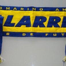 Colecionismo desportivo: BUFANDA DEL VILLAREAL CLUB DE FÚTBOL. 120 GR. Lote 157688354