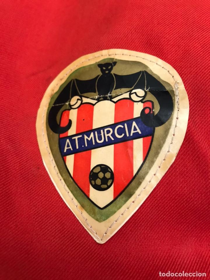 ANTIGUA GORRA DE FUTBOL AT MURCIA COLECCIONISTA DEPORTIVO VINTAGE (Coleccionismo Deportivo - Ropa y Complementos - Complementos deportes)