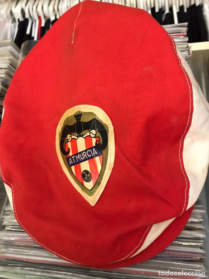 Coleccionismo deportivo: Antigua gorra de Futbol At Murcia Coleccionista deportivo vintage - Foto 2 - 163710093