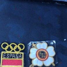 Coleccionismo deportivo: 2 ESCUDOS OLÍMPICOS DE ESPAÑA. Lote 163980841