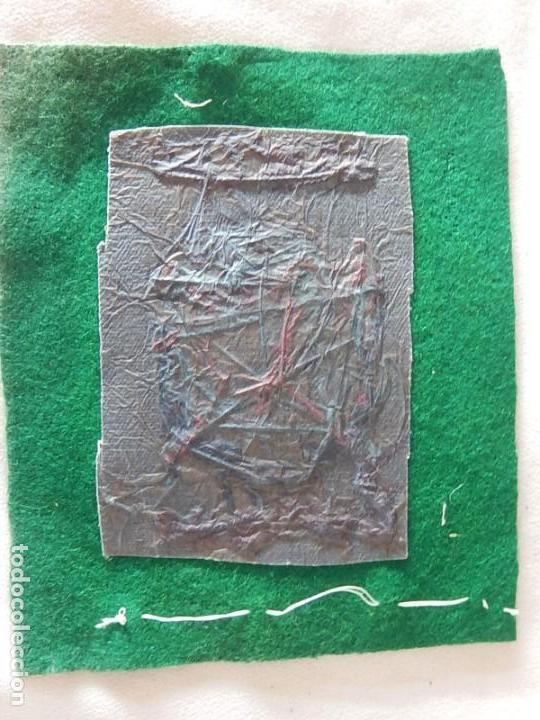 Coleccionismo deportivo: Excelente bordado. Escudo árbitro de la Federación Española de Golf. - Foto 11 - 164989002