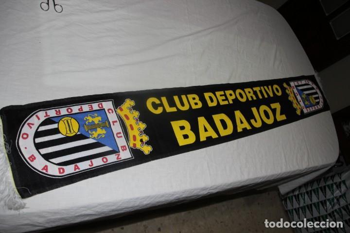 BUFANDA DE FUTBOL DEL CLUB DEPORTIVO BADAJOZ NUEVA Y MUY COTIZADA SCARF (Coleccionismo Deportivo - Ropa y Complementos - Complementos deportes)