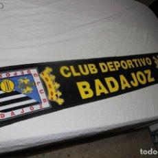 Collectionnisme sportif: BUFANDA DE FUTBOL DEL CLUB DEPORTIVO BADAJOZ NUEVA Y MUY COTIZADA SCARF. Lote 166742338