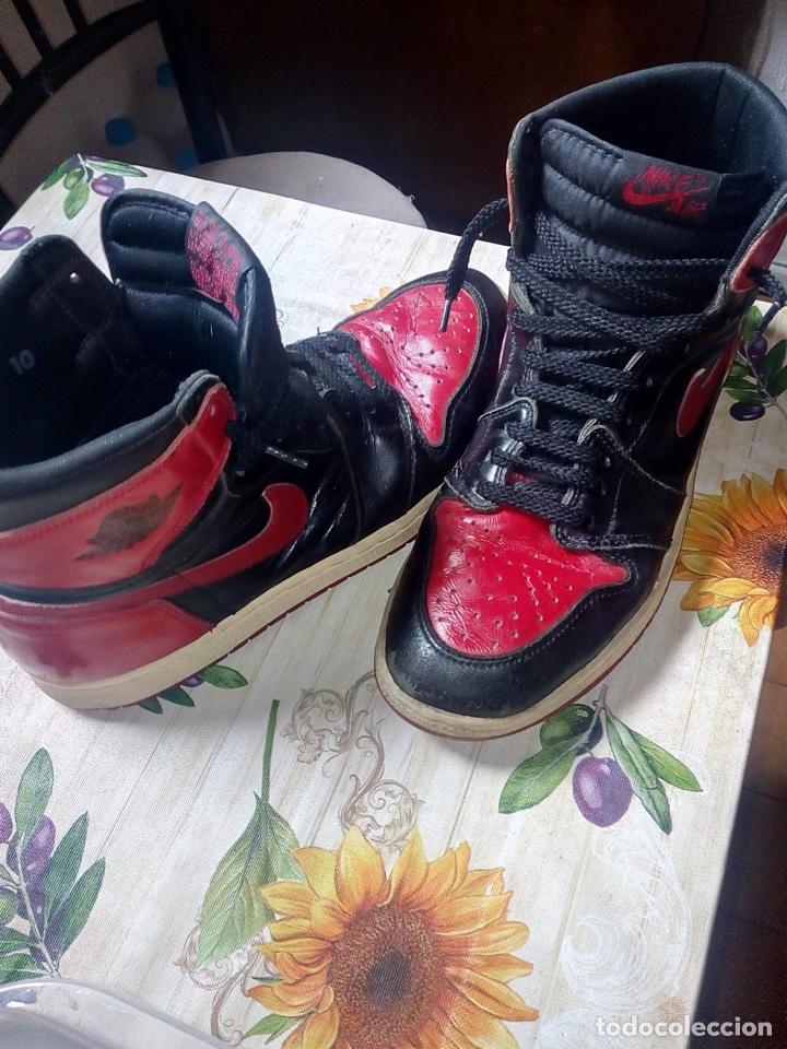 Coleccionismo deportivo: Nike Jordan 1 retro vintage originales - Foto 3 - 169429666