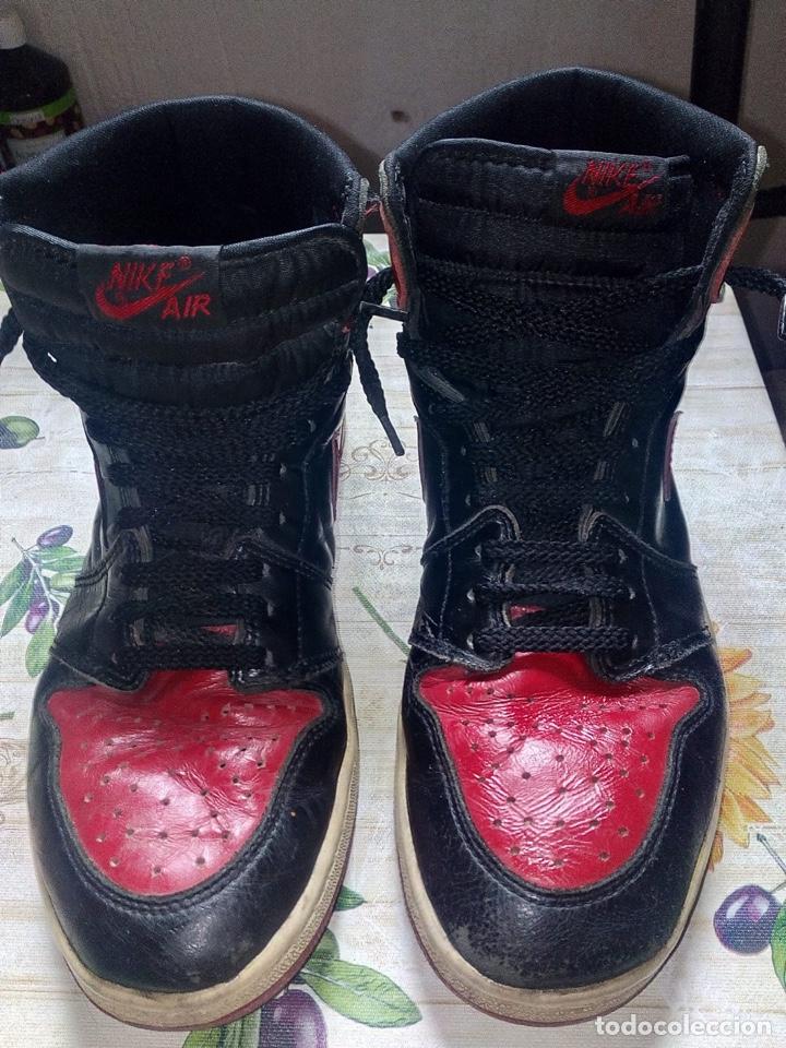 Coleccionismo deportivo: Nike Jordan 1 retro vintage originales - Foto 4 - 169429666