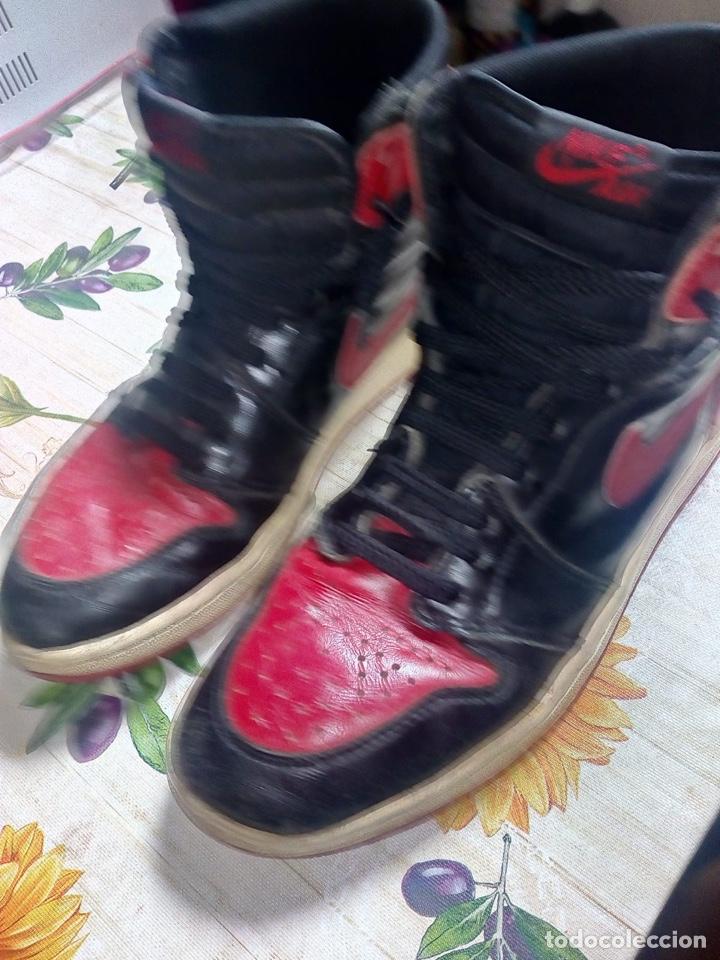 Coleccionismo deportivo: Nike Jordan 1 retro vintage originales - Foto 5 - 169429666