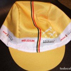 Coleccionismo deportivo: 2019 GORRA DE CICLISMO BELGIUM TOUR DE FRANCE FRANCIA BRUSSELS BELGICA. Lote 170855040