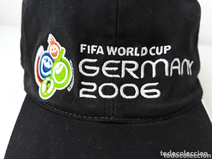 Coleccionismo deportivo: Fifa World Cup Germany fútbol 2006 gorra - Foto 2 - 173046318